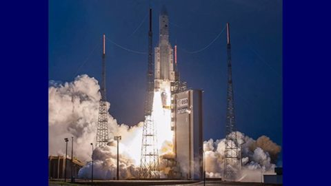 ISRO'S GSAT 31 communications satellite successfully placed in geostationary orbit aboard Ariane 5