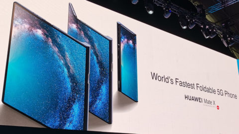 Huawei announced its Mate X 5G Foldable Phone With Kirin 980 SoC, Leica Optics at  MWC 2019