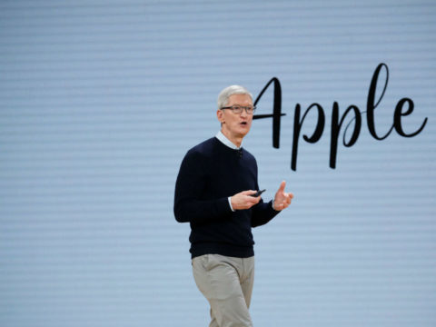 Apple CEO Tim Cook suggests a change in global corporate tax policies