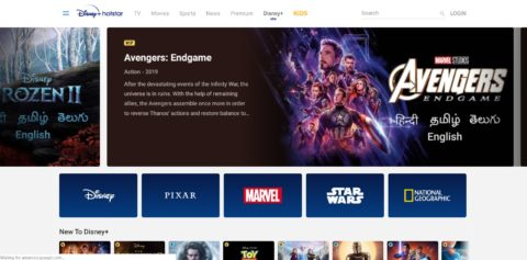 Disney+ debuts in India, starts at ₹1499 a year